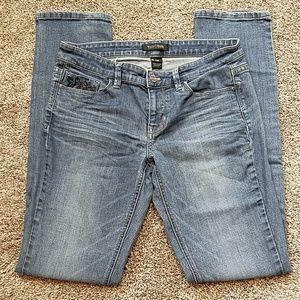 WHBM Noir Skinny Jeans 4R